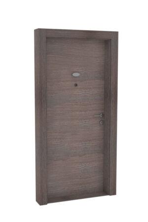 Protivlomna lesena vrata brest prečna