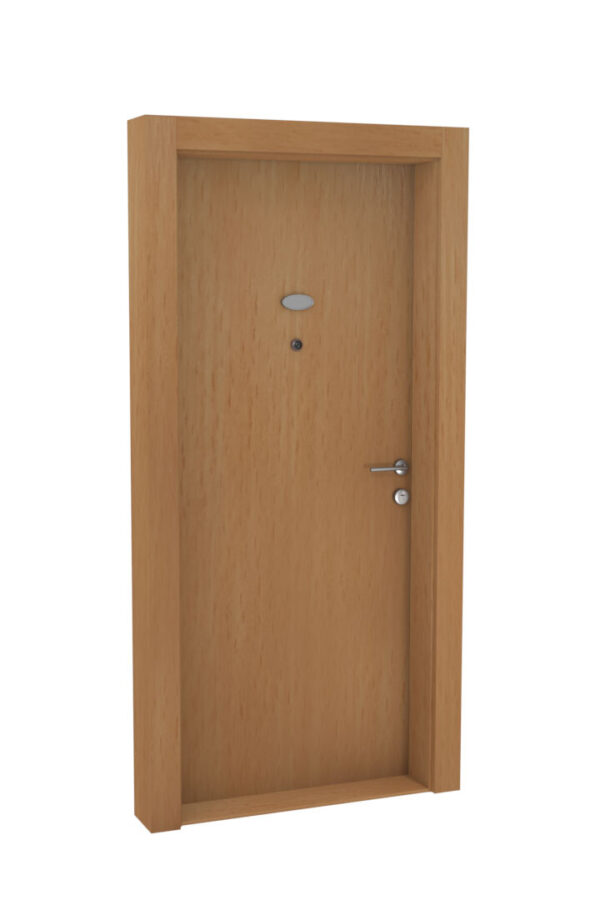 Protivlomna lesena vrata bukev