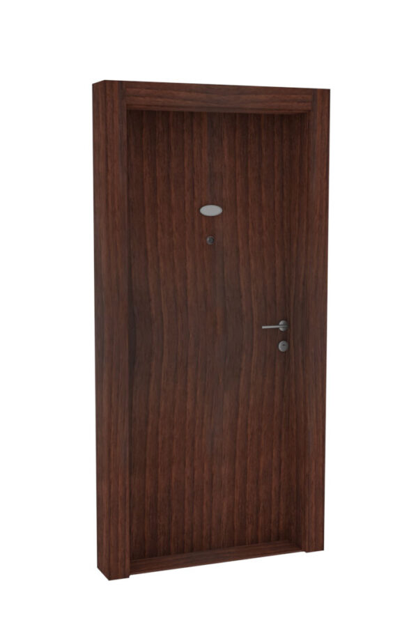 Protivlomna lesena vrata čoko